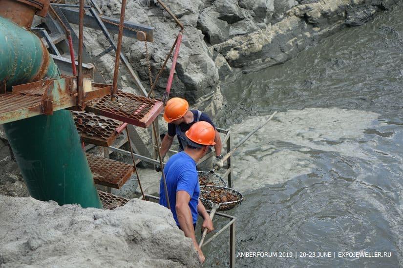 На Калинградском янтарном комбинате началась подготовка к добычному сезону
